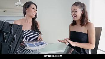 Dyked - Hot Milf (Mckayla Cox) Seduces Lesbian Bride (Izzy Bell)