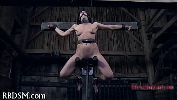 Tortured in upside down position