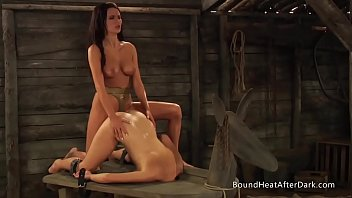 The Submissive: Receiving Pleasure And Pain In lesbian-strapon
