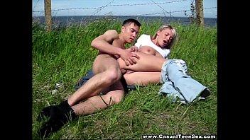 Casual porn outdoors - Casual teen sex - casual bang alisa river bank teen-porn