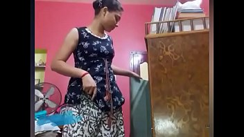Yet another hot video of desi teen girl giving a strip show for xxxvdos.pw