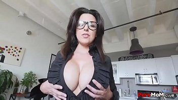 Mommy Giving Blowjob To Son Wearing Glasses - 69VClub.Com