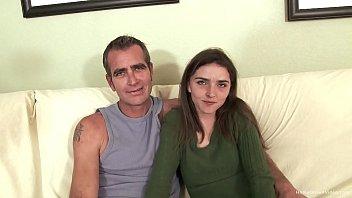 Thin brunette amateur screws her sugar daddy