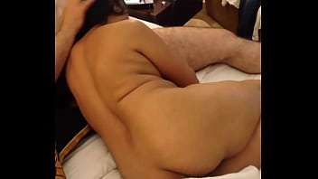 indian wife sucking husband friend cock in hotel
