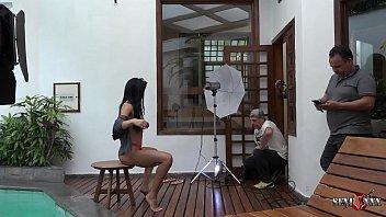 Shayenne Samara photo shoot on Sexfoxxx