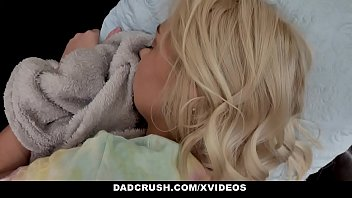 Crush get girl teen tip - Dadcrush - petite blonde teen gets fed on table