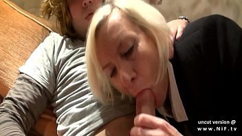 Naughty amateur french mature ass gaped and pounded with cum in mouth thumbnail
