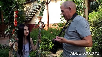 Beautiful Girl and Grandpas Fuck