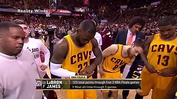 Celebrity Lebron James Accidentally Show his dick in TV