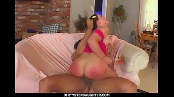 DirtyStepDaughter - Ponytail Slutty Stepdaughter Bionca Valentine Dad Sex