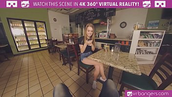 "VRBangers.com-Hot teen waitress Jill Kassidy has a special ""dish"" for your cock"
