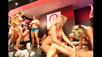 Lesbian club sex video - Night club sex orgies cumshot compilation