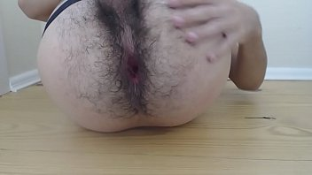Gay hairy old Me, playing with my hole