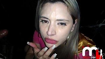 Adriana lima facial - Mônica lima chupando um desconhecido na cabine e levando gozada na cara. part.2