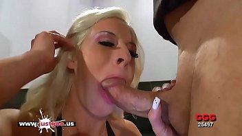 Blonde Sex Bomb Bukkake lover - German Goo Girls