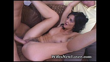 Old Neighbor Shares Mature Wife