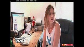 Couple Exhib Francais Filme 24-7 Special Voyeur Vu A La Tele