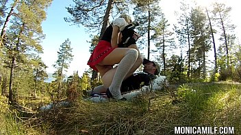 Lesbian norway way Norwegian monicamilf fucking outdoors on 17th may