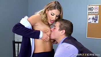 Teens working at fast food places - Brazzers - august ames - big tits at work