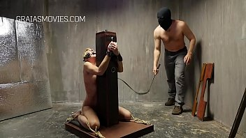 Obedient slave whipped until she cries