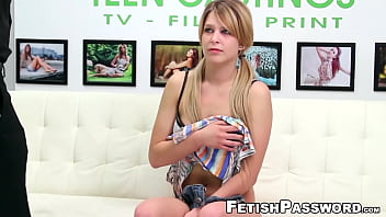 Casting teen Abby Paradise destroyed by rough agent