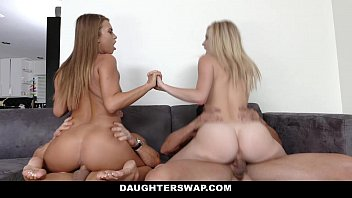 DaughterSwap - Hot Lesbian Teens Fucked By Dads