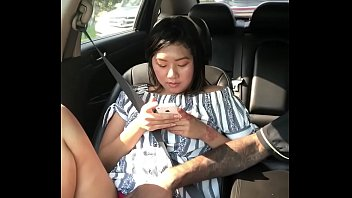 Asian women in australia Cash plays with layla in car