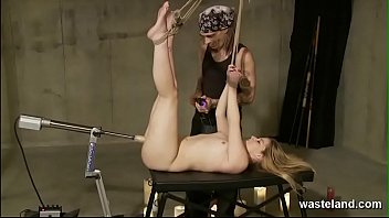 Blonde bondage movies - Decadent duology of blonde in bondage submitting to maledom masters
