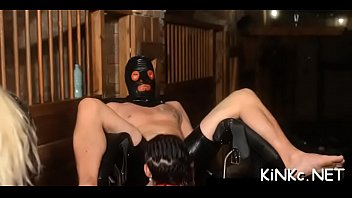Free femdom vid Mean mistress wraps up her serf and tortures his dick