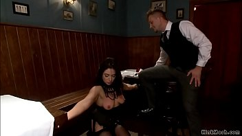 Busty wife bdsm anal banged for debt