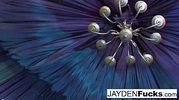Jayden plays with herself
