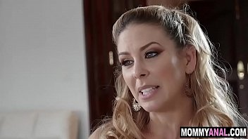Son fucking his step mom in the ass