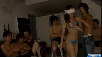 Asian group porn with sleazy Mahiru Tsubaki