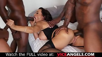 Large boobed Lisa Ann interracial anal gangbang (Lisa Ann , Jon Jon , Jason Brown , Rob Piper , Isiah Maxwell , Nat Turnher) Thumb