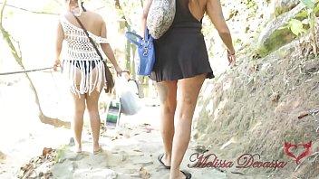 Flagrados transando na praia - Melissa Devassa, Paty Bumbum, Liu Gang, El Toro de Oro