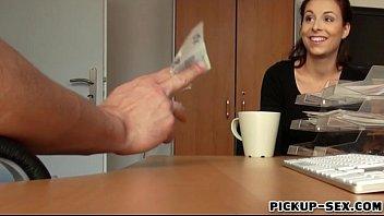 Czech babe Antonia Sainz banged by stranger for cash