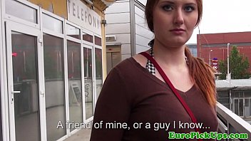 Publicsex euro jizzed on by a stranger