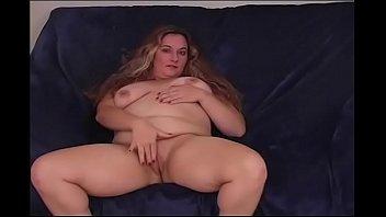 Beautiful Blonde BBW Amateur Solo