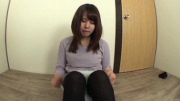 Embarrassed Japanese Amateur Tries To Pee And Fart