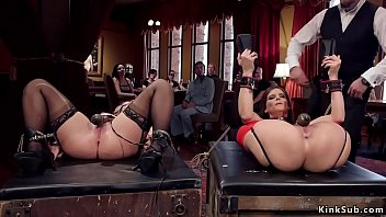 Xxx praties - Hot milf slaves banged in bdsm praty