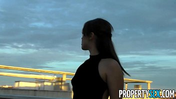 PropertySex - Hot Spainish babe fucks American looking for flat to rent thumbnail
