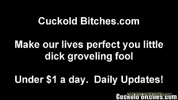 My wife will fuck anything - You are nothing but a useless cuckold slave