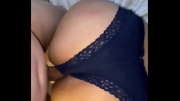 Fucking a married Latinas big ass in pantys