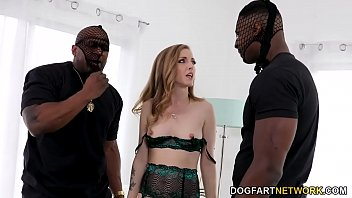 While Daddy Is At Work Karla Kush Finds Black Strangers To Come Fuck Her