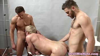 Gay threesome powered by phpbb Powerful tops fucking in threesome