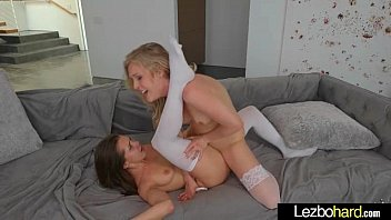 Teen Hot Lez Girls (Jenna Sativa &amp_ Karla Kush) Play In Front Of Camera clip-16