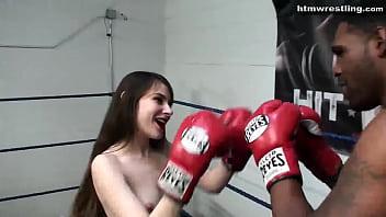 11148 Black Male Boxing BEAST vs Tiny White Girl Ryona preview
