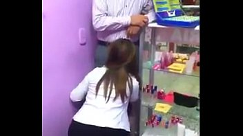 secretar&iacute_a mamando pito