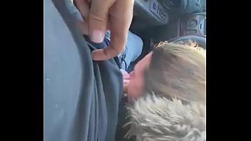 จอดรถให้แฟนอมควยให้