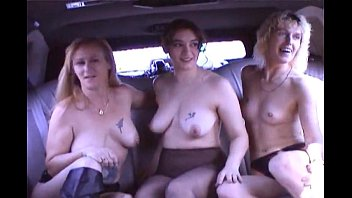 swingers fucking in a limo